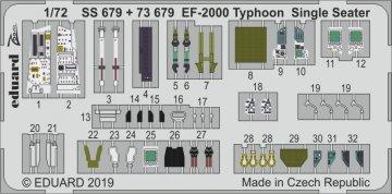 EF-2000 Typhoon Single Seater [Revell] · EDU SS679 ·  Eduard · 1:72