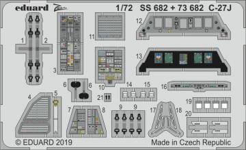 C-27J Spartan [Italeri] · EDU SS682 ·  Eduard · 1:72