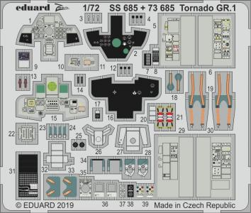 Tornado GR.1 [Italeri] · EDU SS685 ·  Eduard · 1:72