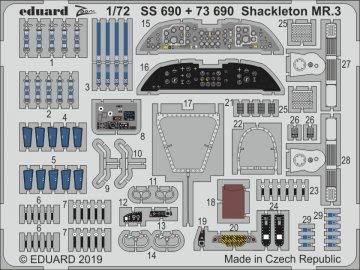 Shackleton MR.3 [Revell] · EDU SS690 ·  Eduard · 1:72