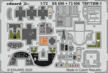 TBF/TBM-1 Avenger [Hasegawa] · EDU SS696 ·  Eduard · 1:72
