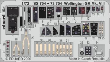Wellington GR Mk.VIII [Airfix] · EDU SS704 ·  Eduard · 1:72