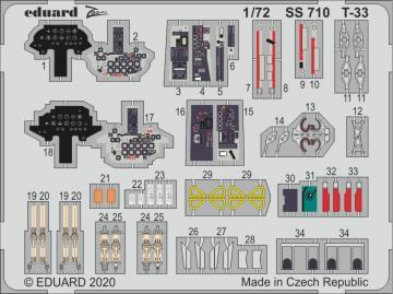 T-33 · EDU SS710 ·  Eduard · 1:72