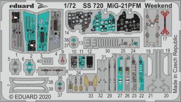 MiG-21PFM Weekend [Eduard] · EDU SS720 ·  Eduard · 1:72