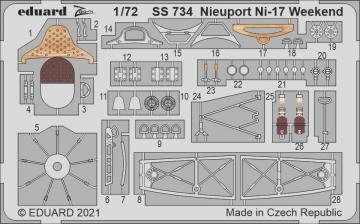 Nieuport Ni-17 - Weekend [Eduard] · EDU SS734 ·  Eduard · 1:72