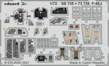 F-4EJ [Fine Molds] · EDU SS735 ·  Eduard · 1:72