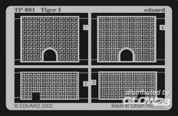 SD.Kfz 181 Tiger I · EDU TP001 ·  Eduard · 1:35
