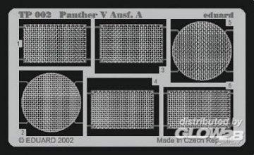 Panther V Ausf.A · EDU TP002 ·  Eduard · 1:35