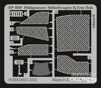 Flakpanzer Möbelwagen 3,7 cm Flak · EDU TP020 ·  Eduard · 1:35