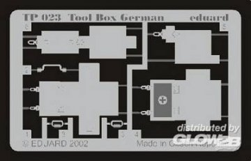 Tool Box German · EDU TP023 ·  Eduard · 1:35