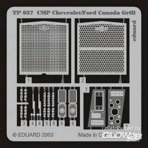 CMP Chevrolet/Ford Canada - Grill · EDU TP037 ·  Eduard · 1:35