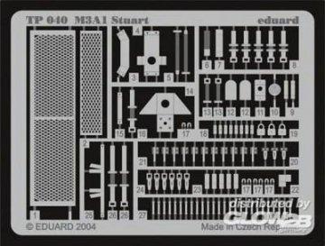 M3A1 Stuart · EDU TP040 ·  Eduard · 1:35