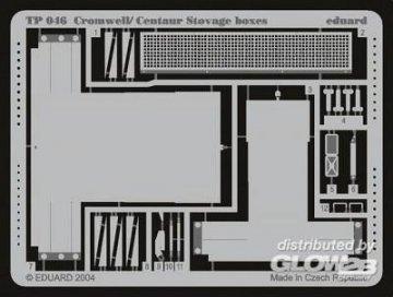 Cromwell / Centaur Stovage boxes · EDU TP046 ·  Eduard · 1:35