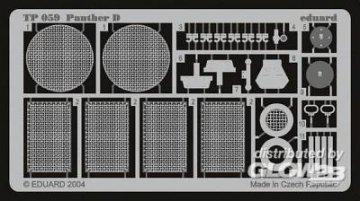 Panther Ausf. D · EDU TP059 ·  Eduard · 1:35