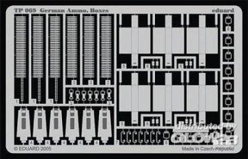 German Ammo. Boxes · EDU TP069 ·  Eduard · 1:35