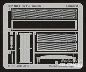 KV-1 mesh [Trumpeter] · EDU TP084 ·  Eduard · 1:32