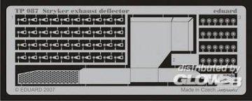 Stryker exhaust deflector für AFV Bausatz · EDU TP087 ·  Eduard · 1:35