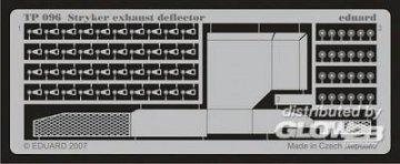 Stryker exhaust deflector · EDU TP096 ·  Eduard · 1:35