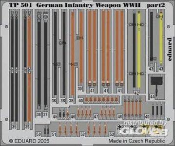German Infantry Weapon WWII · EDU TP501 ·  Eduard · 1:35