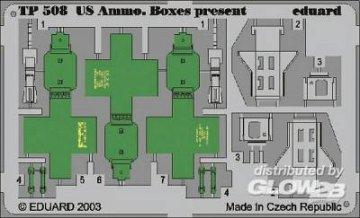 US Ammo Boxes present · EDU TP508 ·  Eduard · 1:35