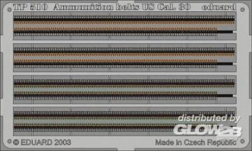 Ammunition Belts US Cal.30 · EDU TP510 ·  Eduard · 1:35