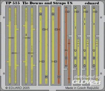 Tie Downs and Straps US · EDU TP515 ·  Eduard · 1:35
