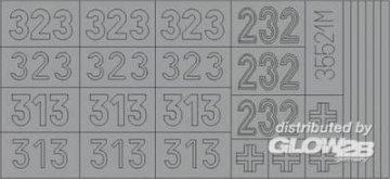 SD.Kfz 181 Tiger I Maskierfolie für Turmbeschriftung · EDU XT055 ·  Eduard · 1:35