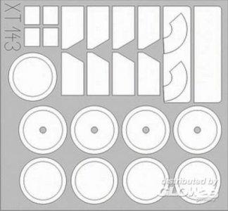Kübelwagen Typ 82 für Bego-Bausatz · EDU XT143 ·  Eduard · 1:35