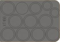 BT-7 - Wheel masks [Tamiya] · EDU XT166 ·  Eduard · 1:35