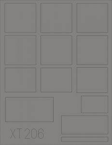 L 4500 Büssing NAG windows [ICM] · EDU XT206 ·  Eduard · 1:35