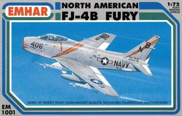 FJ-4B FURY · EM 1001 ·  Emhar · 1:72