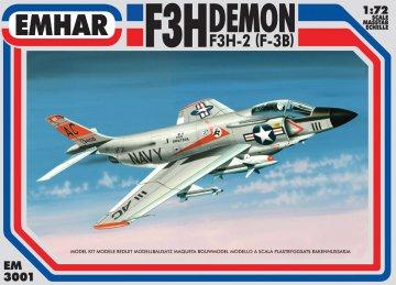 McDonnell F3H-2 Demon · EM 3001 ·  Emhar · 1:72