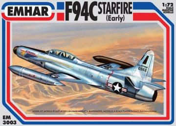 F-94C Starfire Early · EM 3003 ·  Emhar · 1:72