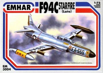 F-94C Starfire Late Version · EM 3004 ·  Emhar · 1:72