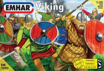 Wikinger 9.-10. Jahrhundert · EM 3205 ·  Emhar · 1:32