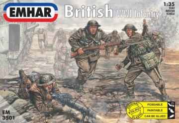 British WWI Infantry · EM 3501 ·  Emhar · 1:35
