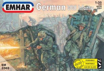Deutsche Infantrie 1.Weltkrieg · EM 3503 ·  Emhar · 1:35