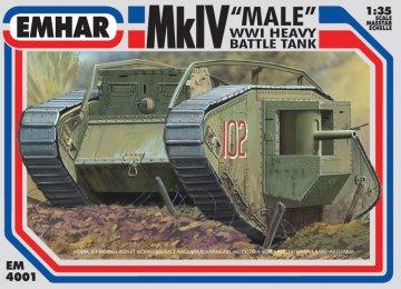 Mk.IV Male · EM 4001 ·  Emhar · 1:35