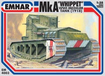 Medium A Whippet WWI - Tank · EM 4003 ·  Emhar · 1:35