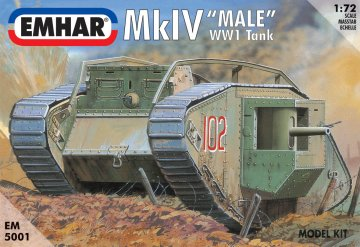 Mk.IV Male · EM 5001 ·  Emhar · 1:72