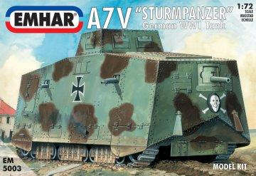 A7V German WWI Tank · EM 5003 ·  Emhar · 1:72