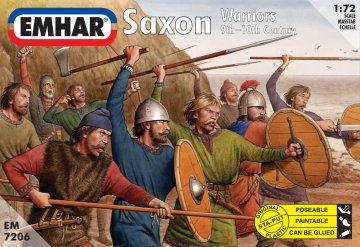 Sächsische Krieger · EM 7206 ·  Emhar · 1:72