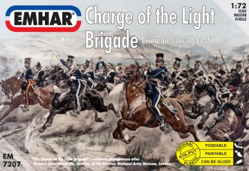 Charge of the Light Brigade Krim-Krieg 1854-56 · EM 7207 ·  Emhar · 1:72