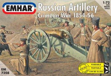 Krim-Krieg: Russische Don Kosaken · EM 7208 ·  Emhar · 1:72