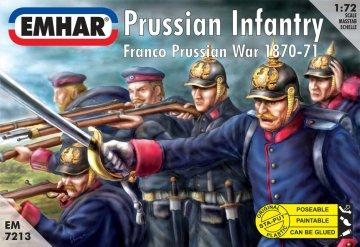 Prussian Infantry Franco Prussian War 1870-71 · EM 7213 ·  Emhar · 1:72