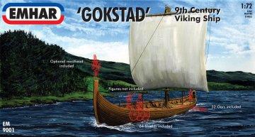 Wikinger Schiff · EM 9001 ·  Emhar · 1:72