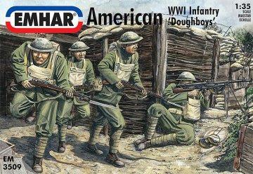WWI Amerikanische Infanterie · EM 933509 ·  Emhar · 1:35