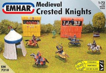 Mittelalterliche Ritter · EM 937210 ·  Emhar · 1:72