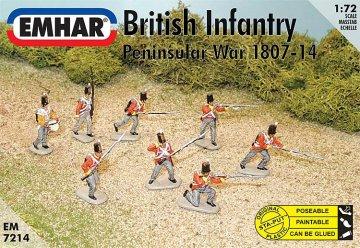 Britische Infanterie · EM 937214 ·  Emhar · 1:72