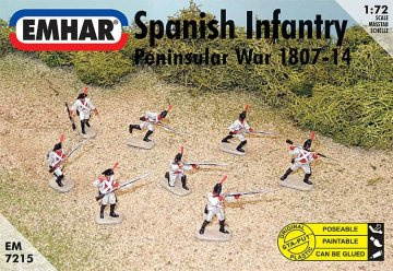Spanische Infanterie · EM 937215 ·  Emhar · 1:72